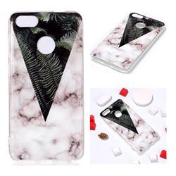 Leaf Soft TPU Marble Pattern Phone Case for Huawei P9 Lite Mini (Y6 Pro 2017)