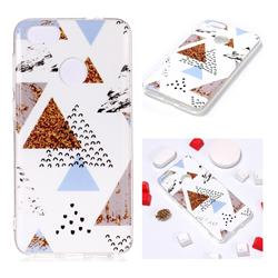 Hill Soft TPU Marble Pattern Phone Case for Huawei P9 Lite Mini (Y6 Pro 2017)