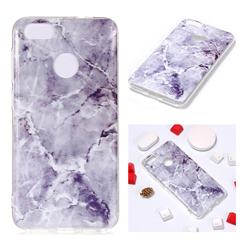 Light Gray Soft TPU Marble Pattern Phone Case for Huawei P9 Lite Mini (Y6 Pro 2017)
