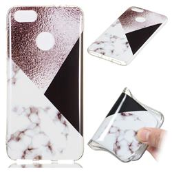 Black white Grey Soft TPU Marble Pattern Phone Case for Huawei P9 Lite Mini (Y6 Pro 2017)