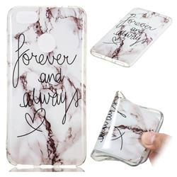 Forever Soft TPU Marble Pattern Phone Case for Huawei P9 Lite Mini (Y6 Pro 2017)