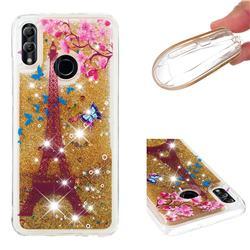 Golden Tower Dynamic Liquid Glitter Quicksand Soft TPU Case for Huawei P Smart (2019)