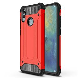 King Kong Armor Premium Shockproof Dual Layer Rugged Hard Cover for Huawei P Smart (2019) - Big Red