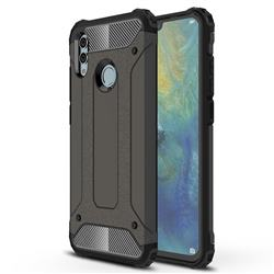 King Kong Armor Premium Shockproof Dual Layer Rugged Hard Cover for Huawei P Smart (2019) - Bronze