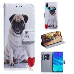 Pug Dog PU Leather Wallet Case for Huawei P Smart (2019)