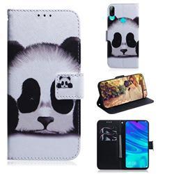 Sleeping Panda PU Leather Wallet Case for Huawei P Smart (2019)