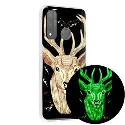 Fly Deer Noctilucent Soft TPU Back Cover for Huawei P Smart (2020)