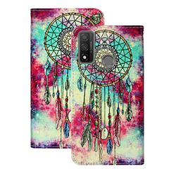 Butterfly Chimes PU Leather Wallet Case for Huawei P Smart (2020)