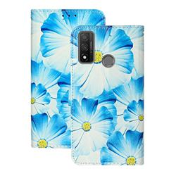 Orchid Flower PU Leather Wallet Case for Huawei P Smart (2020)