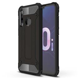King Kong Armor Premium Shockproof Dual Layer Rugged Hard Cover for Huawei P Smart+ (2019) - Black Gold