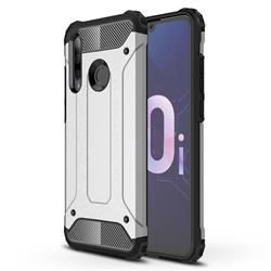 King Kong Armor Premium Shockproof Dual Layer Rugged Hard Cover for Huawei P Smart+ (2019) - White