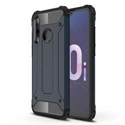 King Kong Armor Premium Shockproof Dual Layer Rugged Hard Cover for Huawei P Smart+ (2019) - Navy