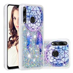 Fantasy Wind Chimes Dynamic Liquid Glitter Quicksand Soft TPU Case for Huawei P Smart+ (2019)