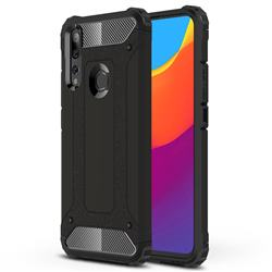King Kong Armor Premium Shockproof Dual Layer Rugged Hard Cover for Huawei P Smart Z (2019) - Black Gold