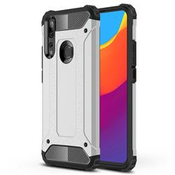 King Kong Armor Premium Shockproof Dual Layer Rugged Hard Cover for Huawei P Smart Z (2019) - White
