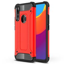 King Kong Armor Premium Shockproof Dual Layer Rugged Hard Cover for Huawei P Smart Z (2019) - Big Red