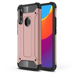 King Kong Armor Premium Shockproof Dual Layer Rugged Hard Cover for Huawei P Smart Z (2019) - Rose Gold