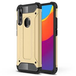 King Kong Armor Premium Shockproof Dual Layer Rugged Hard Cover for Huawei P Smart Z (2019) - Champagne Gold