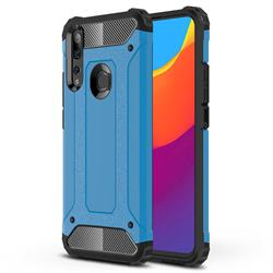 King Kong Armor Premium Shockproof Dual Layer Rugged Hard Cover for Huawei P Smart Z (2019) - Sky Blue