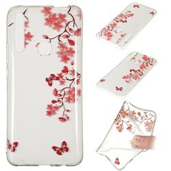 Plum Blossom Super Clear Soft TPU Back Cover for Huawei P Smart Z (2019)