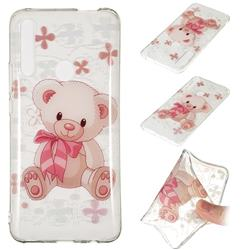 Cute Little Bear Super Clear Soft TPU Back Cover for Huawei P Smart Z (2019)