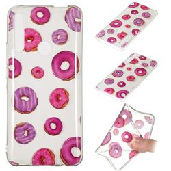 Donuts Super Clear Soft TPU Back Cover for Huawei P Smart Z (2019)