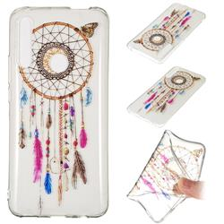 Wind Chimes Butterfly Super Clear Soft TPU Back Cover for Huawei P Smart Z (2019)