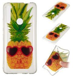 Cute Pineapple Super Clear Soft TPU Back Cover for Huawei P Smart Z (2019)