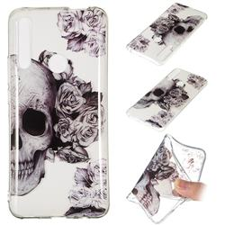 Skull Rose Super Clear Soft TPU Back Cover for Huawei P Smart Z (2019)