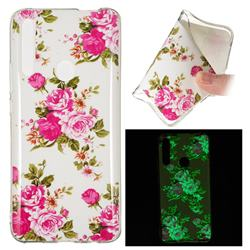 Peony Noctilucent Soft TPU Back Cover for Huawei P Smart Z (2019)
