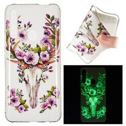 Sika Deer Noctilucent Soft TPU Back Cover for Huawei P Smart Z (2019)