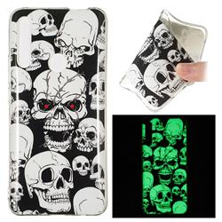 Red-eye Ghost Skull Noctilucent Soft TPU Back Cover for Huawei P Smart Z (2019)
