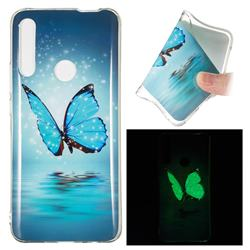 Butterfly Noctilucent Soft TPU Back Cover for Huawei P Smart Z (2019)