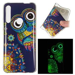 Tribe Owl Noctilucent Soft TPU Back Cover for Huawei P Smart Z (2019)