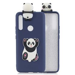 Giant Panda Soft 3D Climbing Doll Soft Case for Huawei P Smart Z (2019)
