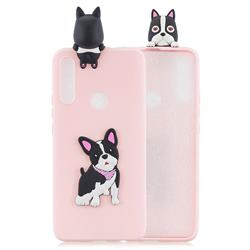 Cute Dog Soft 3D Climbing Doll Soft Case for Huawei P Smart Z (2019)
