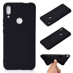 Candy Soft TPU Back Cover for Huawei P Smart Z (2019) - Black