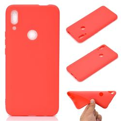 Candy Soft TPU Back Cover for Huawei P Smart Z (2019) - Red