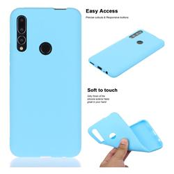 Soft Matte Silicone Phone Cover for Huawei P Smart Z (2019) - Sky Blue