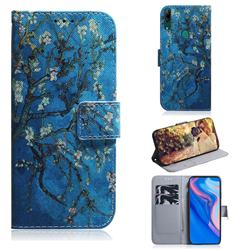 Apricot Tree PU Leather Wallet Case for Huawei P Smart Z (2019)