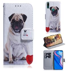 Pug Dog PU Leather Wallet Case for Huawei P Smart Z (2019)