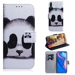 Sleeping Panda PU Leather Wallet Case for Huawei P Smart Z (2019)