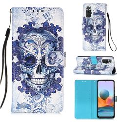 Cloud Kito 3D Painted Leather Wallet Case for Xiaomi Redmi Note 10 Pro / Note 10 Pro Max