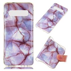 Earth Soft TPU Marble Pattern Phone Case for Samsung Galaxy S10 (6.1 inch)