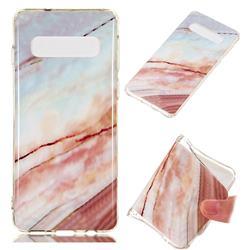 Elegant Soft TPU Marble Pattern Phone Case for Samsung Galaxy S10 (6.1 inch)