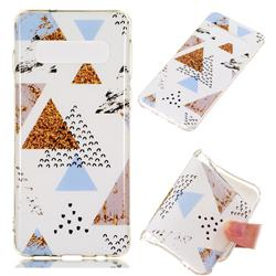 Hill Soft TPU Marble Pattern Phone Case for Samsung Galaxy S10 (6.1 inch)