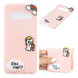Kiss me Pony Soft 3D Silicone Case for Samsung Galaxy S10 (6.1 inch)