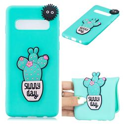 Cactus Flower Soft 3D Silicone Case for Samsung Galaxy S10 5G (6.7 inch)