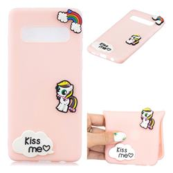Kiss me Pony Soft 3D Silicone Case for Samsung Galaxy S10 5G (6.7 inch)