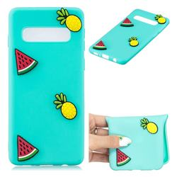 Watermelon Pineapple Soft 3D Silicone Case for Samsung Galaxy S10 5G (6.7 inch)
